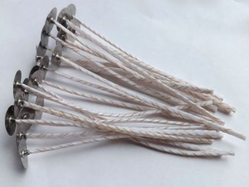 EC' 120mm Length Cotton / Linen Wicks for Soy Candles